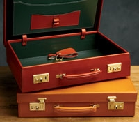 Machine Stitched Attache Cases