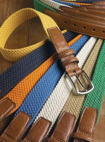 0901e6ff2f Braided Cotton Belts