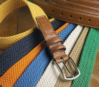 Braided Cotton Belts