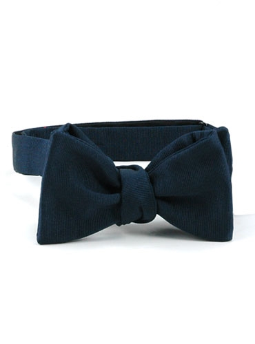 Faille Bow Navy
