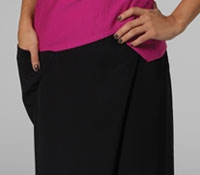 Viscose Culottes in Black