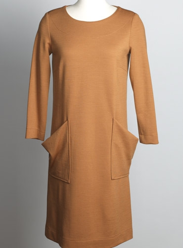 Ladies Shift Dress in Beech