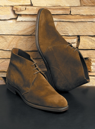 The Chukka Boot in Tobacco Suede