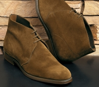 The Chukka Boot in Snuff Suede