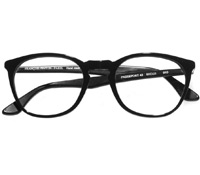 Retro Square Frame in Black