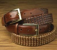 Italian Tubular Braided Belt