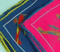 Silk Printed Plane Pocket Squares