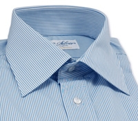 Thin Blue Stripe Shirt