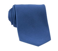 Mogador Silk Solid Tie in Royal