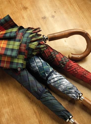 Fox Tartan Umbrellas