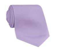Silk Solid Tie in Lavender