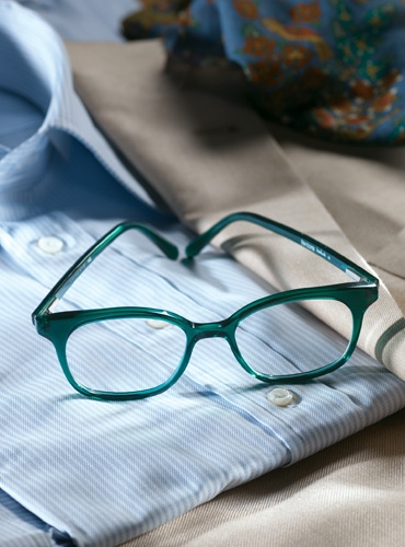 Slender Tip Frame in Deep Teal