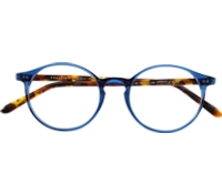 P3 Frames in Blue with Tortoise Temples