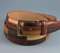 Lizard Patchwork Belt