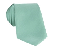 Mogador Silk Solid Signature Tie in Mint