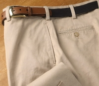 Warm Weather Charleston Britches Khaki Trousers