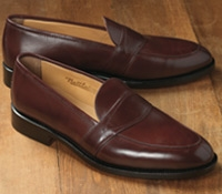 The Savannah Loafer in Burgundy