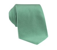 Silk Solid Signature Tie in Sage