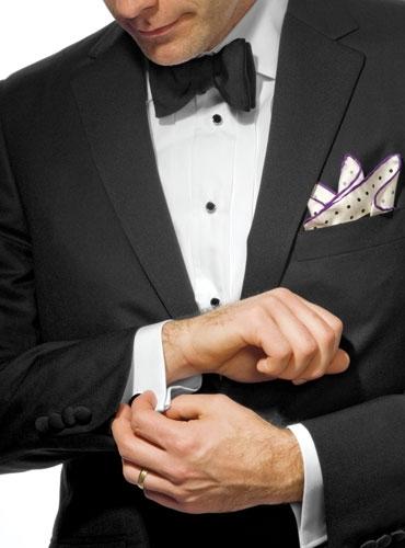 Notched Lapel Tuxedo