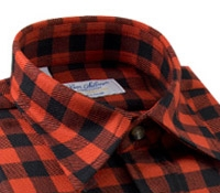 Wool Tartan Overshirt in Rob Roy