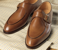 The Lawrence Monk Strap in Tan