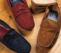 Suede Travel Slippers