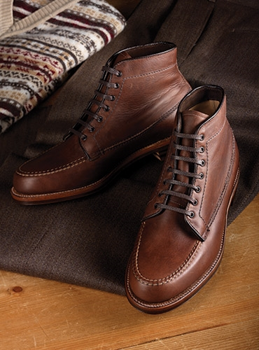 The Alden Michigan Boot in Brown