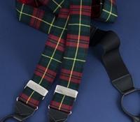 Wool Farquharson Tartan Braces