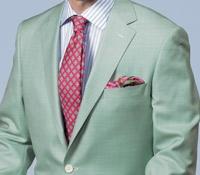 Mint Green Silk and Wool Sport Coat