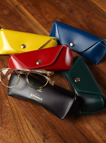 Ettinger Leather Eyeglass Cases