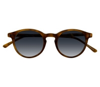 P3 Sunglasses in Amber with Gradient Blue Lenses
