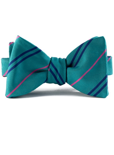Mogador Double Stripe Bow in Honeybird
