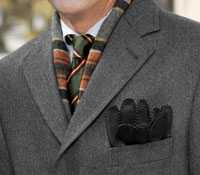 A Traditional Overcoat in Tweed
