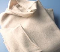 Ladies Cashmere Turtleneck in Linen