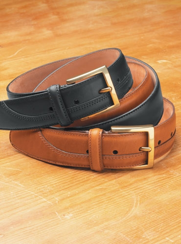 Genuine English Leather Bridle Belts