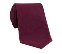 Silk Solid Signature Tie in Maroon