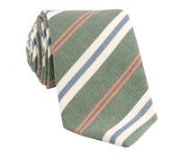 Mogador Stripe Tie in Field