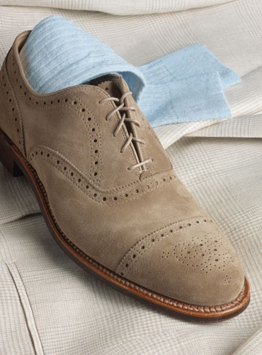 Alden Medallion Cap Toe