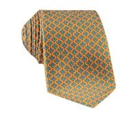 Fleur De Lis Tie in Marigold