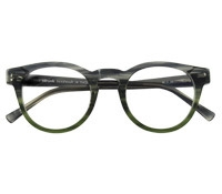 Semi-Round Frame in Storm and Green