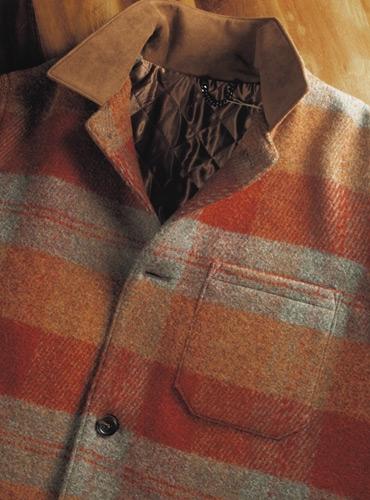Autumn Wool Plaid Blanket Jacket