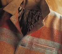 Autumn Wool Plaid Blanket Jacket