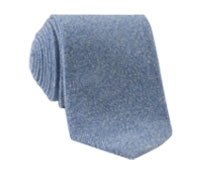 Cashmere Donegal Tie in Sky