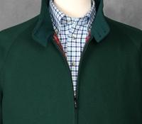Wool & Cashmere G9 Jacket Tartan Green