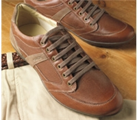 The Geox Walking Shoe in Cognac
