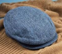 Wool Helmsley Royal Herringbone Cap
