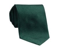 Silk Solid Repp Tie in Holly