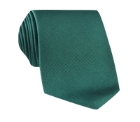 Silk Solid Signature Tie in Juniper