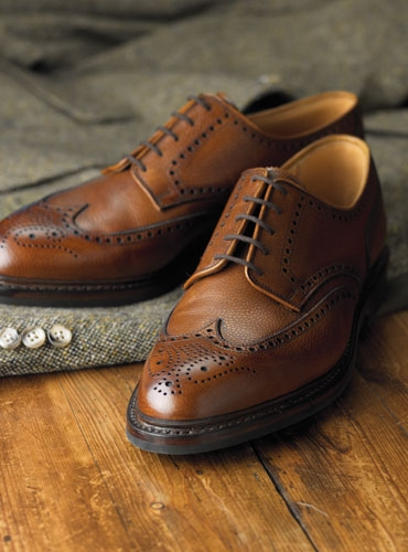 The Pembroke Blucher in Tan