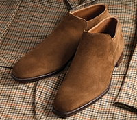 The Kempton Slip-on in Tobacco Suede